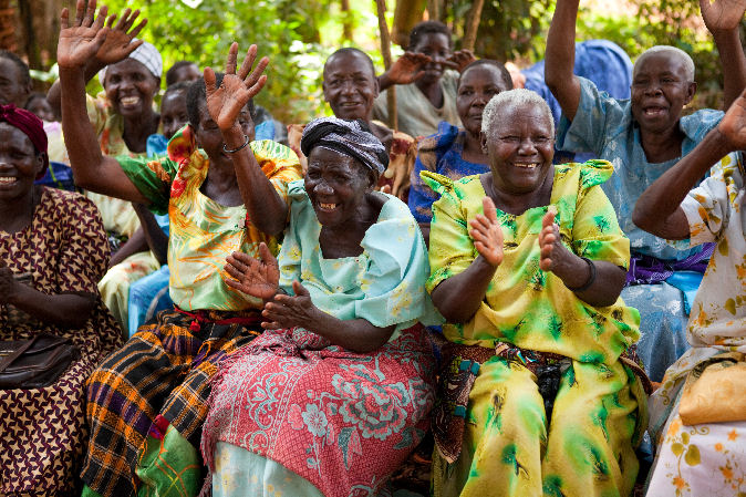 Grandmothers celebrate: Uganda - PEFO