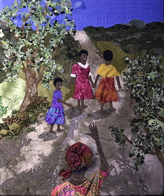 Textile Art for Africa - One Child at a Time