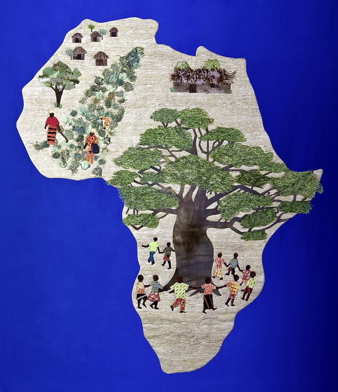 Textile Art for Africa - One Journey at a Time