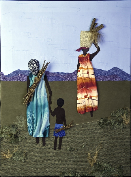 Textile Art for Africa - One Harvest at a Time