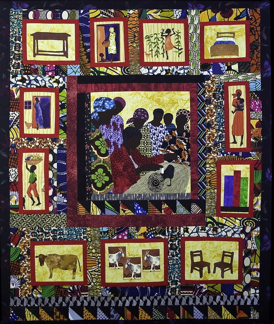 Textile Art for Africa - One Door at a Time