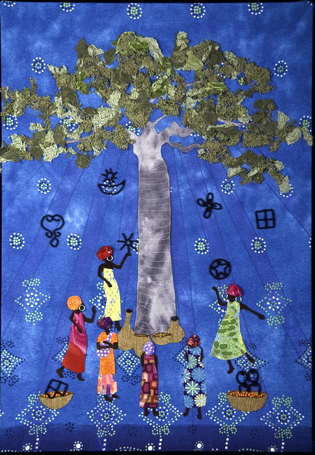 Textile Art for Africa - One Wisdom in Time