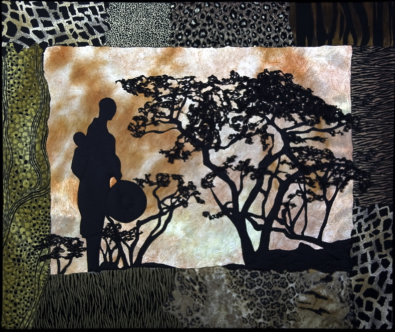 Textile Art for Africa - One Healing Foetus at a Time