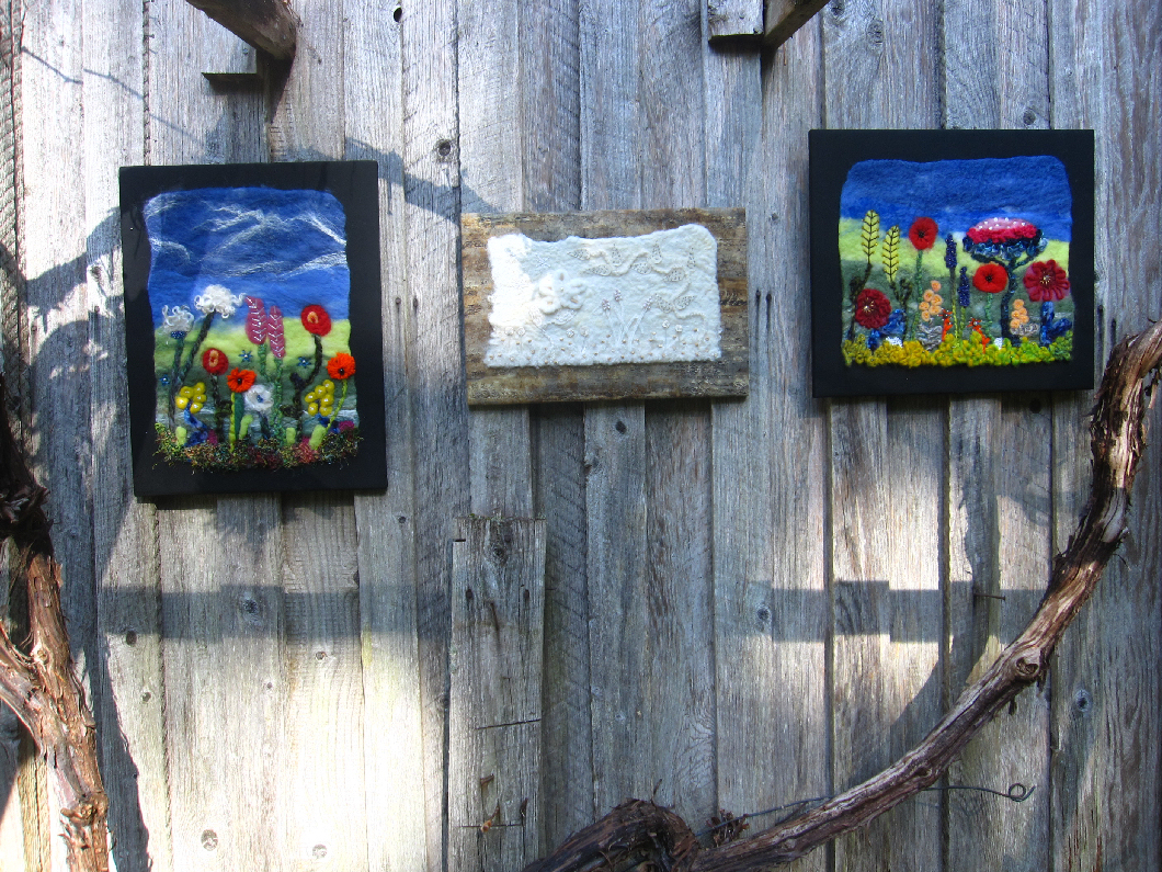 Felted Wall Hangings
